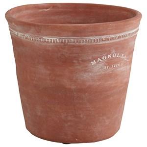 Magnolia Home by Joanna Gaines Accessories Terra Cotta Origin Pot, Medium - Clay