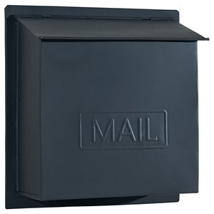 Magnolia Home by Joanna Gaines Accessories Black Metal Mailbox
