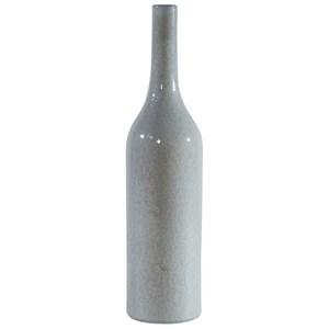 Large Slim Ceramic Vase