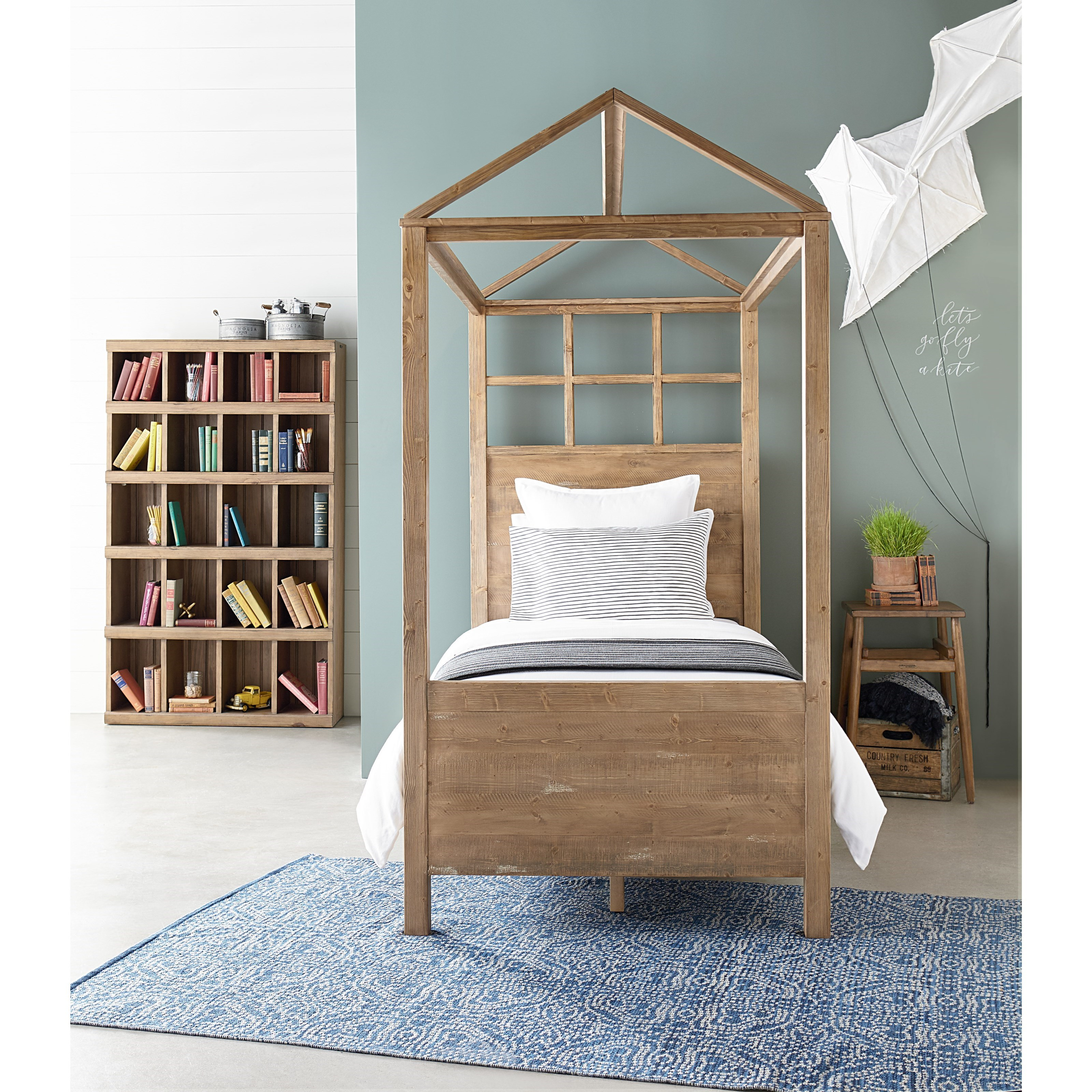 Canopy Style Bed Available For Order In These Wood Colours: Magnolia Home By Joanna Gaines Boho Playhouse Full Canopy