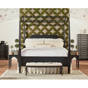 Magnolia Home by Joanna Gaines Farmhouse King Carriage Bedroom Group