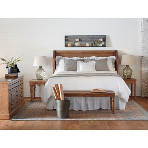Magnolia Home by Joanna Gaines Farmhouse Queen Bedroom Group