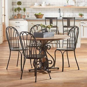Magnolia Home by Joanna Gaines French Insipired Round Table and Chair Set