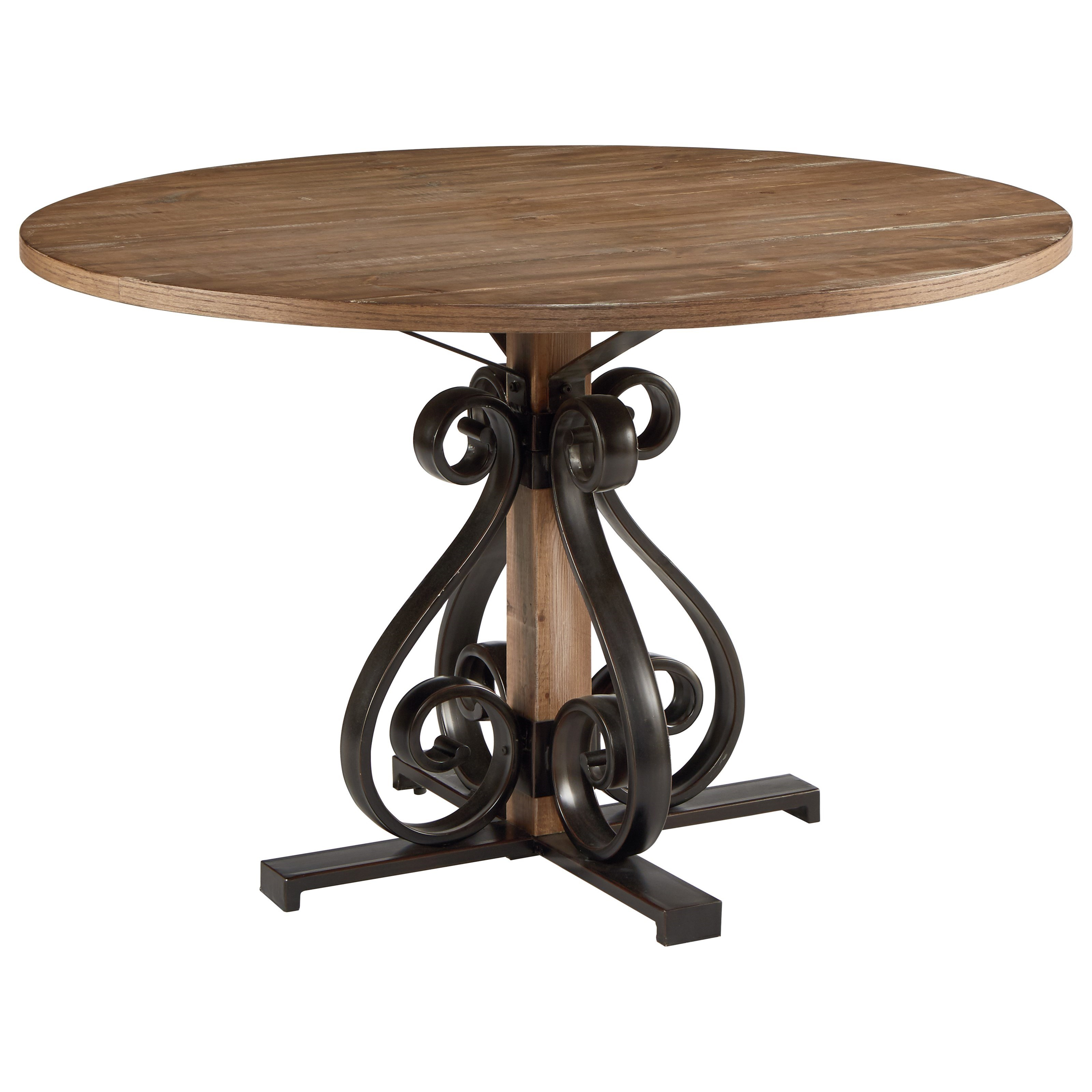 Magnolia Home by Joanna Gaines French Insipired Round Dining Table ...