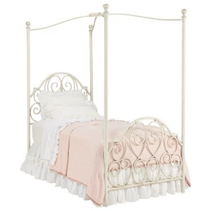 Magnolia Home by Joanna Gaines French Inspired Full Canopy Bed