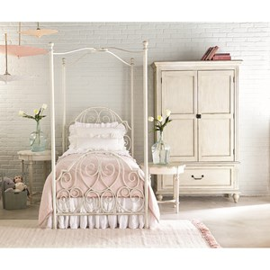 Magnolia Home by Joanna Gaines French Inspired Full Bedroom Group