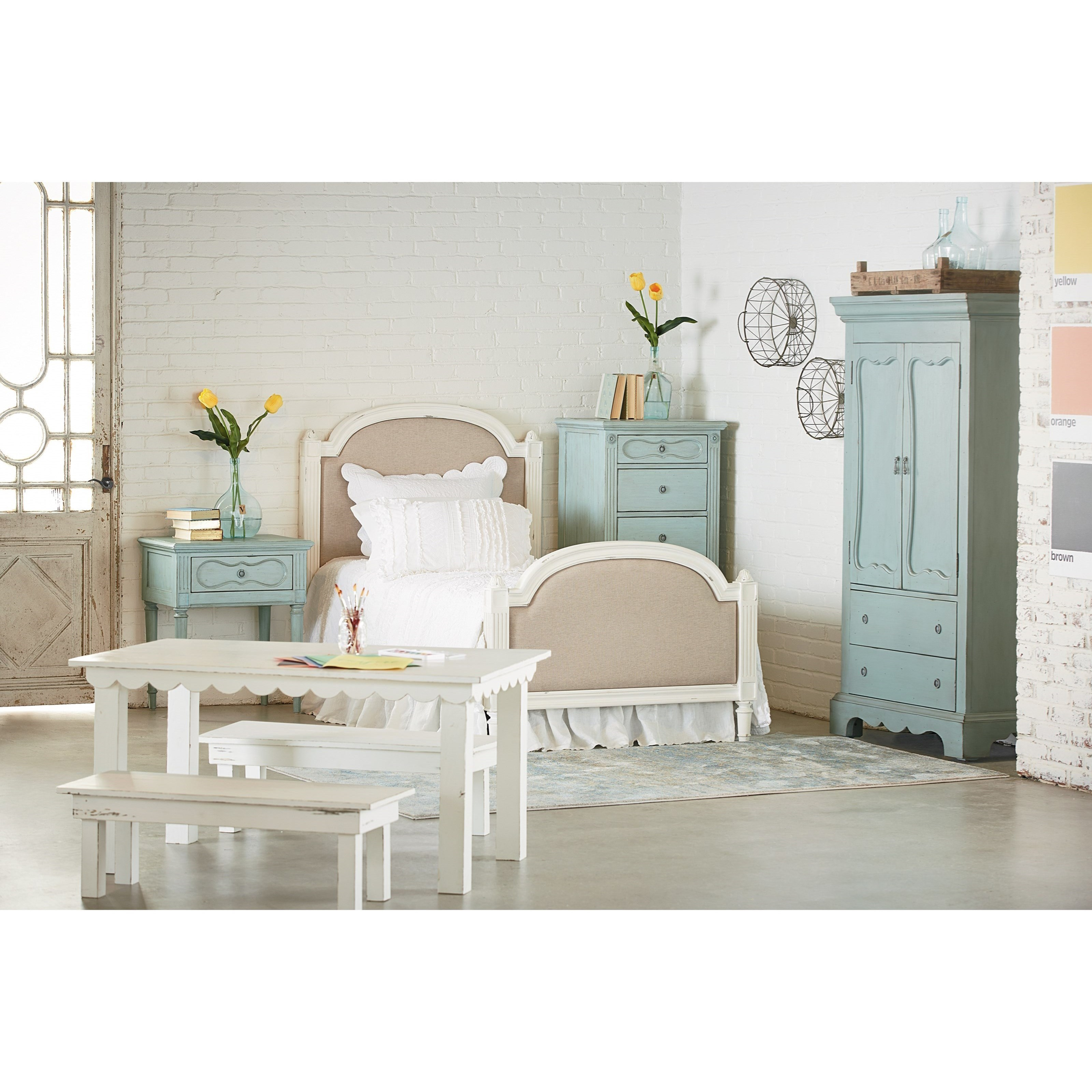 Magnolia Home By Joanna Gaines French Inspired Queen Bedroom Group Ivan Smith Furniture