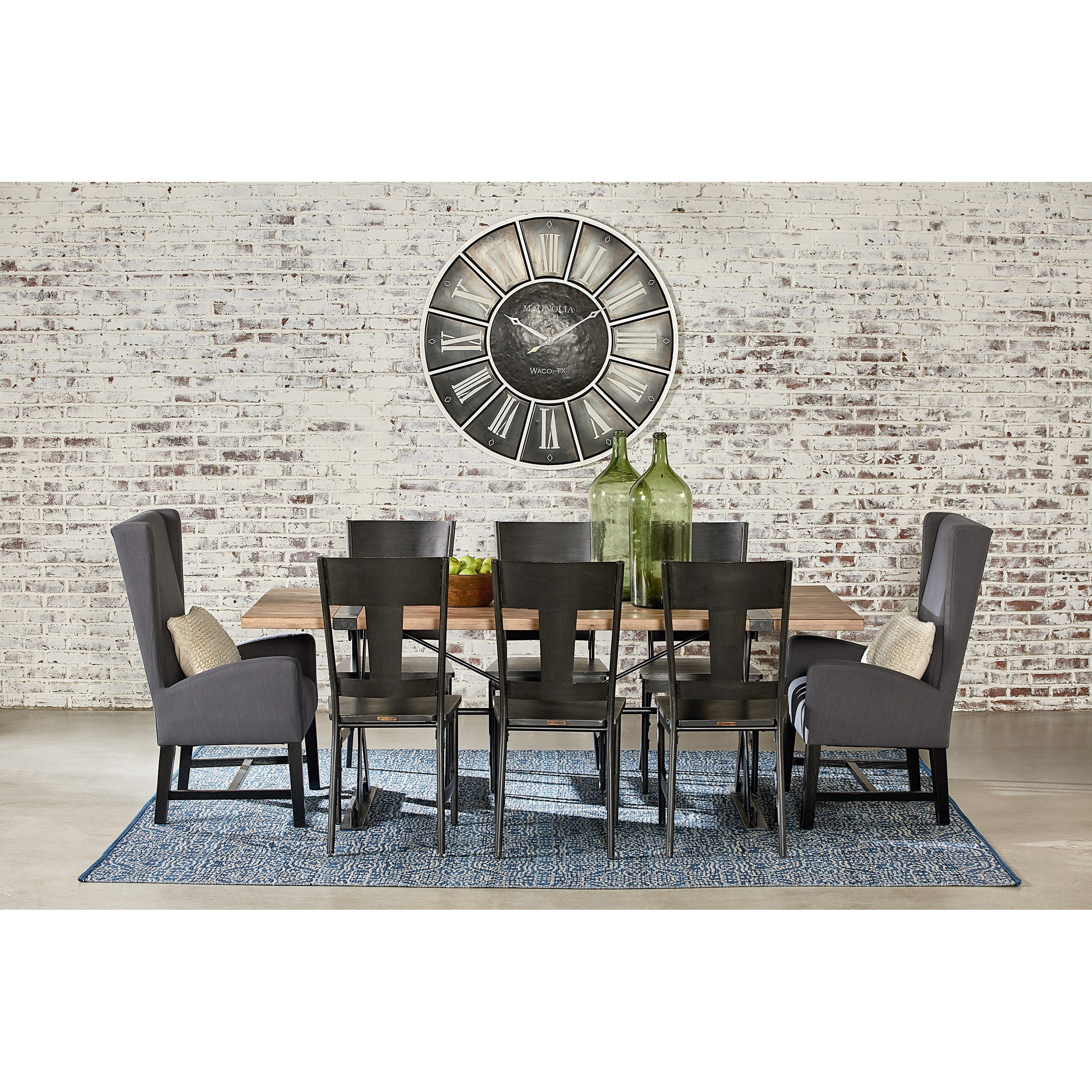 Magnolia Home By Joanna Gaines Industrial Table And Chair Set