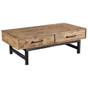 Magnolia Home by Joanna Gaines Industrial Coffee Table