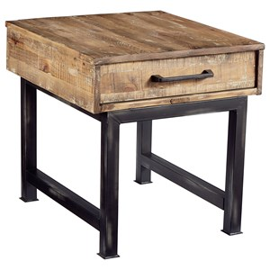 Magnolia Home by Joanna Gaines Industrial End Table