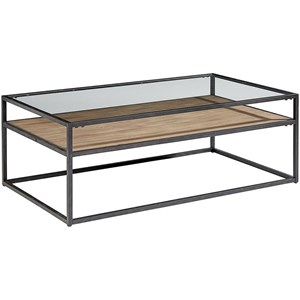 Magnolia Home by Joanna Gaines Industrial Showcase Coffee Table
