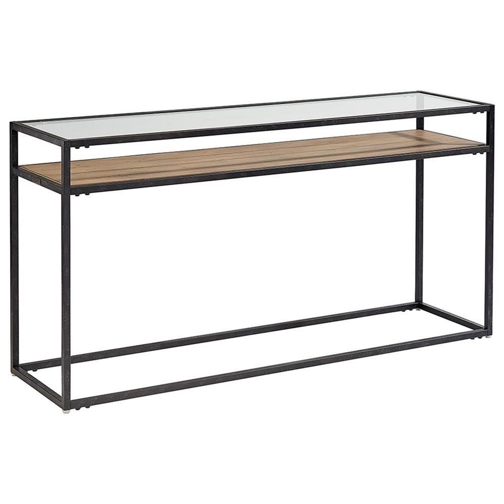 Magnolia Home By Joanna Gaines Industrial Showcase Console Table
