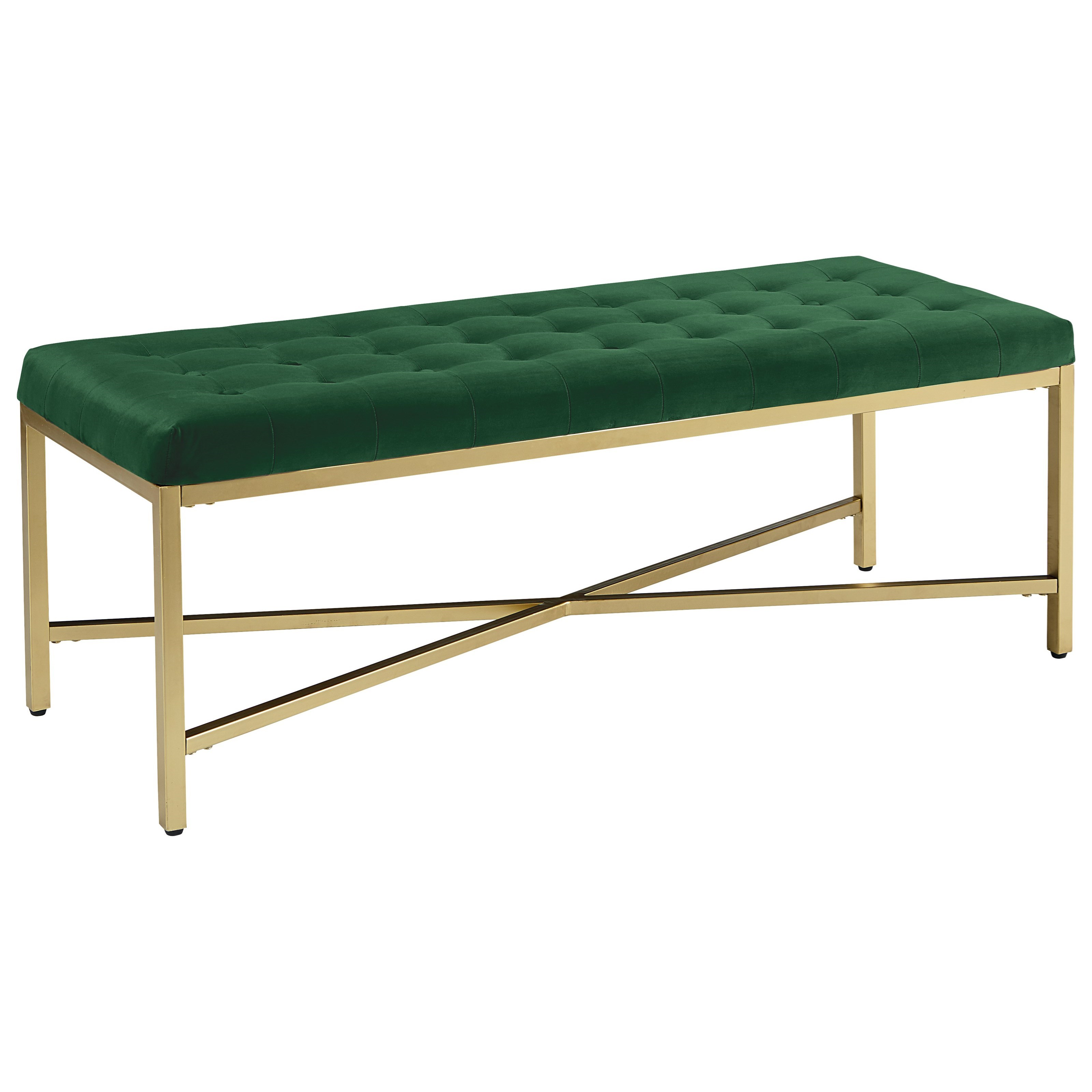 Magnolia Home By Joanna Gaines Modern Upholstered Bench