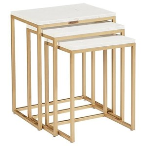 Magnolia Home by Joanna Gaines Modern Luxe Nesting Tables