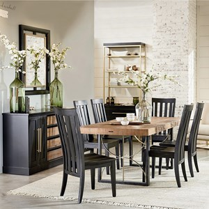 Magnolia Home by Joanna Gaines Modern 7' Dining Room Group