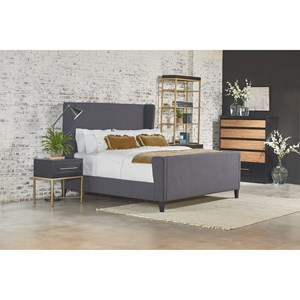 Magnolia Home by Joanna Gaines Modern Queen Bedroom Group