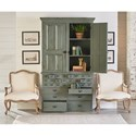 Magnolia Home by Joanna Gaines Primitive File Cabinet Armoire with Patina Finish