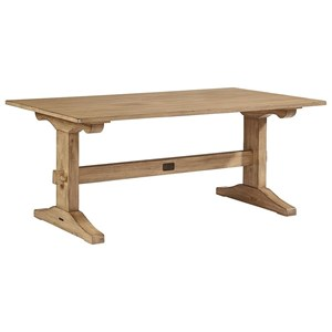 Magnolia Home by Joanna Gaines Primitive Kindred Trestle Table
