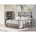 Magnolia Home by Joanna Gaines Traditional King Vintage Metal Trellis Bed