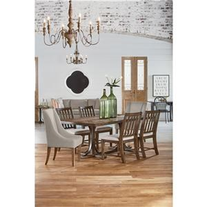Magnolia Home by Joanna Gaines Traditional 5 Piece Dining Set
