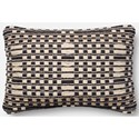 "Magnolia Home by Joanna Gaines for Loloi Accent Pillows 13"" X 21"" Cover w/Down Pillow - Item Number: DSETP1008BLTNPIL5"