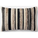"Magnolia Home by Joanna Gaines for Loloi Accent Pillows 13"" X 21"" Cover w/Down Pillow - Item Number: DSETP1022CCIVPIL5"