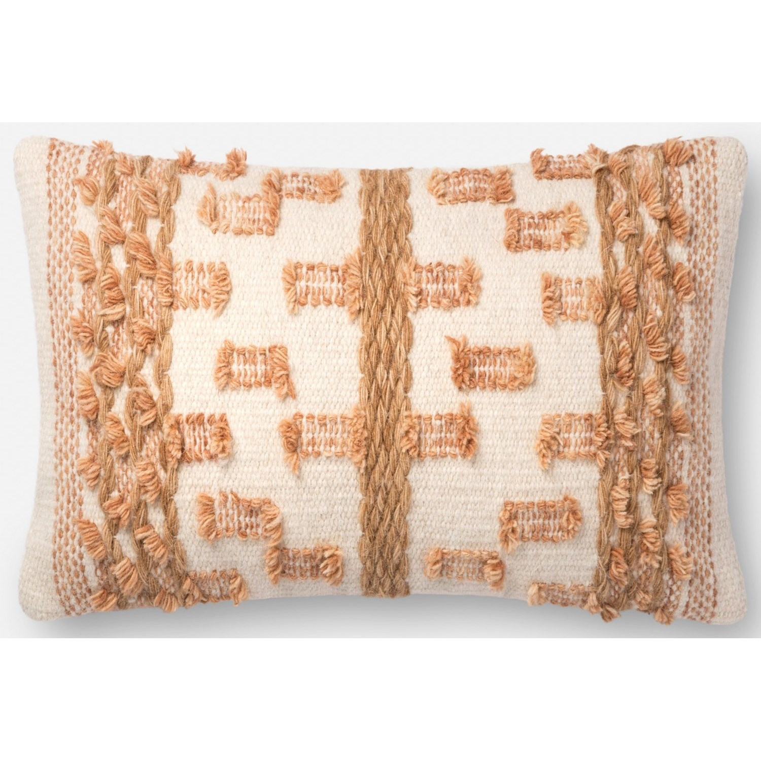 """Accent Pillows 13"""" x 21"""" Down Pillow by Magnolia Home by Joanna Gaines for Loloi at Belfort Furniture"""