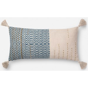 """Magnolia Home by Joanna Gaines for Loloi Accent Pillows 12"""" x 27"""" Down Pillow"""