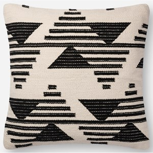 """Magnolia Home by Joanna Gaines for Loloi Accent Pillows 22"""" x 22"""" Down Pillow"""