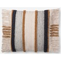 """Magnolia Home by Joanna Gaines for Loloi Accent Pillows 22"""" x 22"""" Down Pillow - Item Number: DSETP1100GOMLPIL3"""