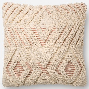 """Magnolia Home by Joanna Gaines for Loloi Accent Pillows 18"""" x 18"""" Cover Only"""