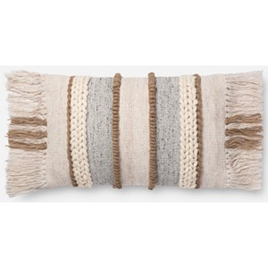 """Magnolia Home by Joanna Gaines for Loloi Accent Pillows 13"""" x 21"""" Cover Only"""