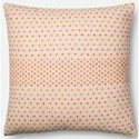 "Magnolia Home by Joanna Gaines for Loloi Accent Pillows 22"" X 22"" Cover w/Poly Pillow - Item Number: PSETP1000COMLPIL3"