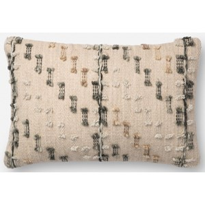 """Magnolia Home by Joanna Gaines for Loloi Accent Pillows 13"""" x 21"""" Polyester Pillow"""