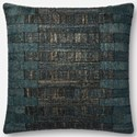 """Magnolia Home by Joanna Gaines for Loloi Accent Pillows 22"""" x 22"""" Polyester Pillow - Item Number: PSETP1085TE00PIL3"""