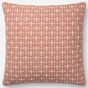 "Magnolia Home by Joanna Gaines for Loloi Accent Pillows 18"" x 18"" Polyester Pillow - Item Number: PSETP1096BH00PIL1"