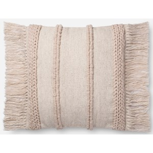 """Magnolia Home by Joanna Gaines for Loloi Accent Pillows 22"""" x 22"""" Polyester Pillow"""