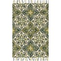 "Magnolia Home by Joanna Gaines for Loloi Brushstroke 3' 6"" x 5' 6"" Rectangle Rug - Item Number: BRUSBI-02IVEM3656"