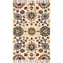 """Magnolia Home by Joanna Gaines for Loloi Brushstroke 5' 0"""" x 7' 6"""" Rectangle Rug - Item Number: BRUSBI-06IVML5076"""