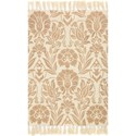 """Magnolia Home by Joanna Gaines for Loloi Jozie Day 3' 6"""" x 5' 6"""" Rectangle Rug - Item Number: JOZIJG-01IV003656"""