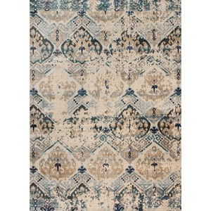 """Magnolia Home by Joanna Gaines for Loloi Kivi 5' 3"""" X 5' 3"""" Round Rug"""