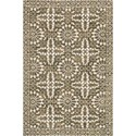 """Magnolia Home by Joanna Gaines for Loloi Lotus 5' 0"""" x 7' 6"""" Rectangle Rug - Item Number: LOTULB-02AIOL5076"""