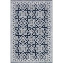 "Magnolia Home by Joanna Gaines for Loloi Lotus 5' 0"" x 7' 6"" Rectangle Rug - Item Number: LOTULB-05MDSI5076"