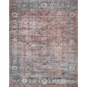 """Magnolia Home by Joanna Gaines for Loloi Lucca 1'-6"""" x 1'-6"""" Square Rug - Item Number: LUCCLF-11BKOC160S"""