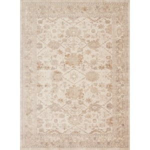 "Magnolia Home by Joanna Gaines for Loloi Trinity 9' 6"" X 9' 6"" Round Rug"