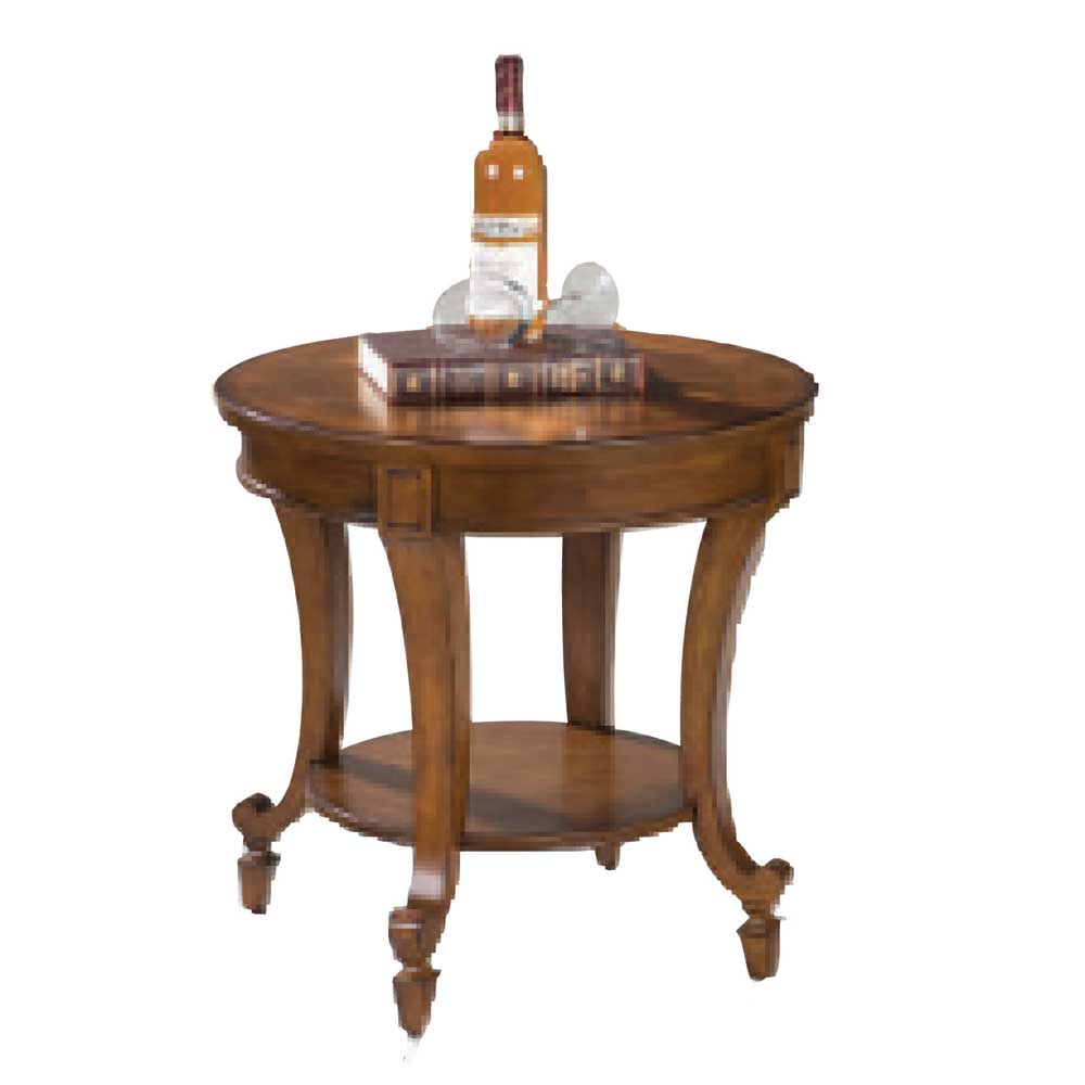Aidan Ivy Court End Table by Magnussen Home at Morris Home