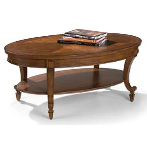 Magnussen Home Aidan Oval Cocktail Table