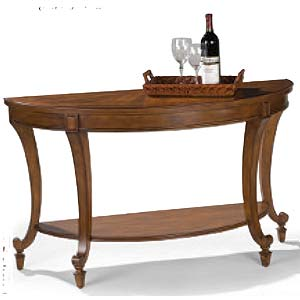 Magnussen Home Aidan Demilune Sofa Table