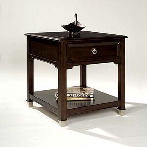 Magnussen Home Darien Rectangular End Table