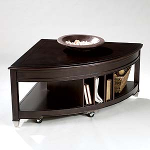 Magnussen Home Darien Pie Shaped Lift Top Cocktail Table